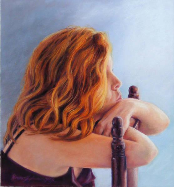 Pastel - Leanne A Study by Denise Horne-Kaplan