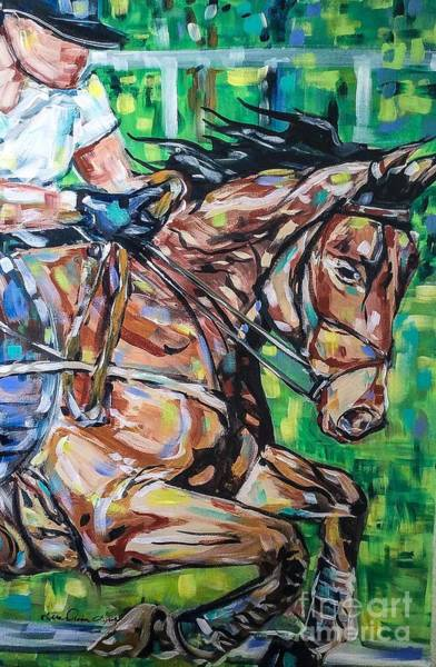 Painting - Leap by Lisa Owen-Lynch