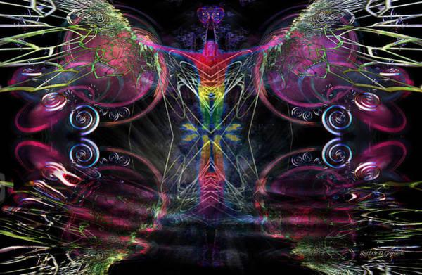 Digital Art - Leap Of Faith by Rhonda Strickland