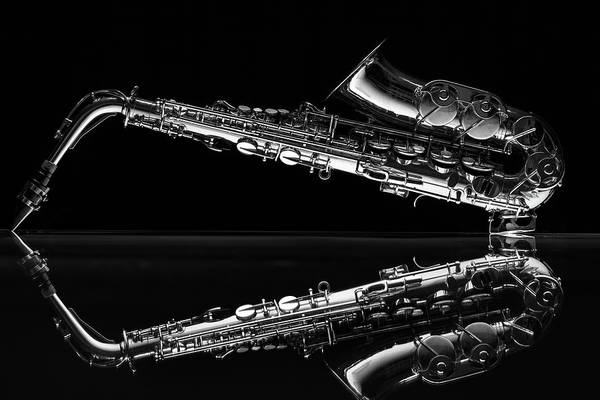 Wall Art - Photograph - Learn To Work The Saxophone by Dario Infini
