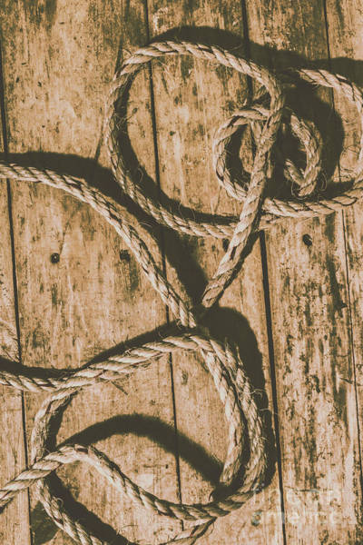 Object Wall Art - Photograph - Learning The Ropes by Jorgo Photography - Wall Art Gallery
