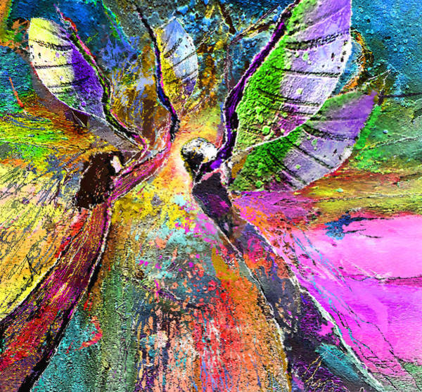 Painting - Learning To Fly by Miki De Goodaboom