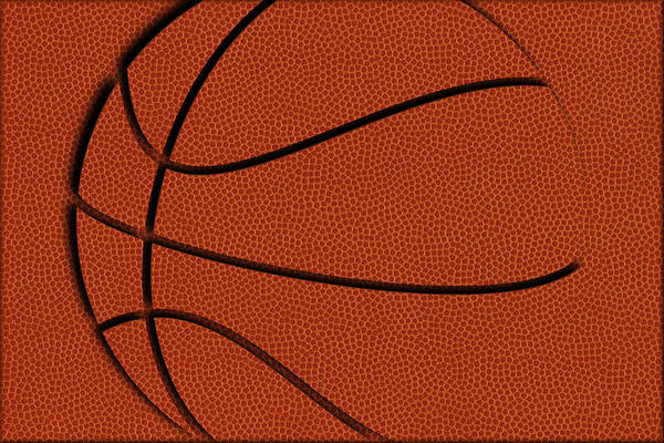 National Basketball Association Wall Art - Photograph - Leather Basketball Art by Joe Hamilton