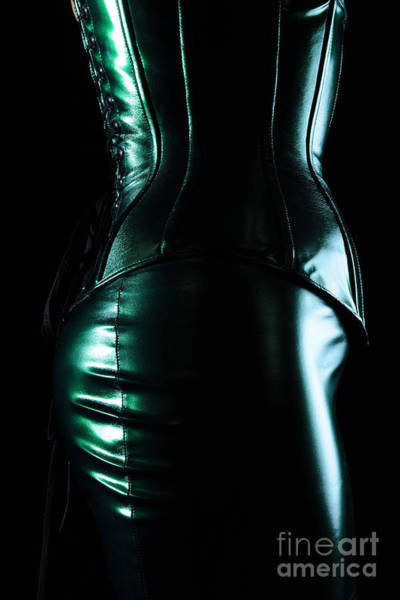 Photograph - Leather Corset  by Robert WK Clark