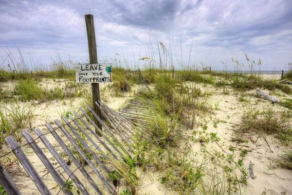 Photograph - Leave Only Your Footprints by JC Findley