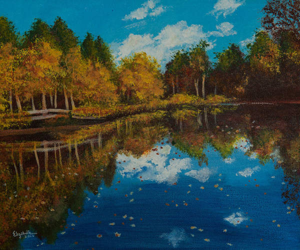 Painting - Leaves by Elizabeth Mundaden