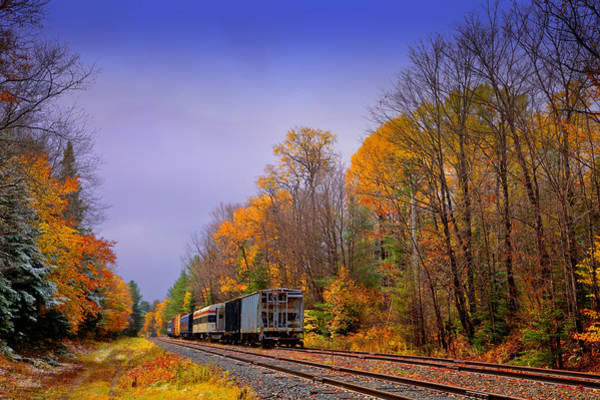 Photograph - Leaving Autumn Behind by David Patterson
