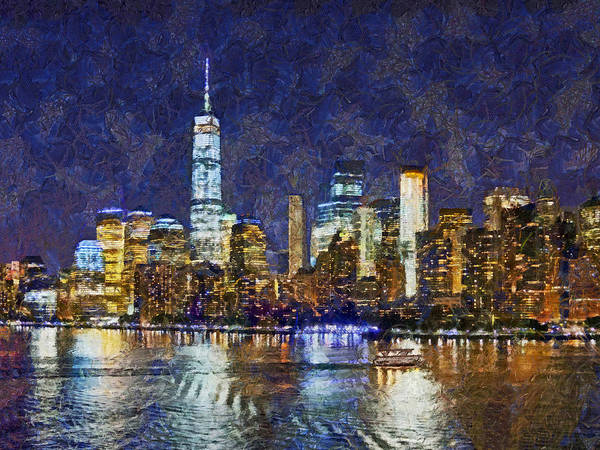 Digital Art - Leaving New York City by Digital Photographic Arts