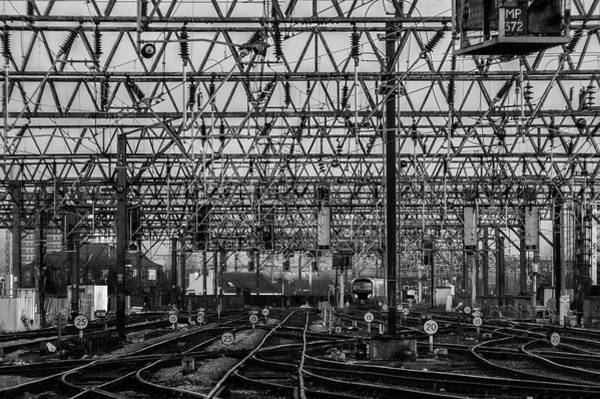 Greater Manchester Wall Art - Photograph - Leaving Piccadilly by Neil Alexander