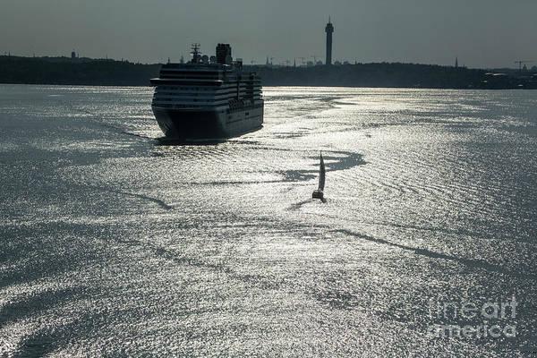 Wall Art - Photograph - Leaving Port by Sheila Smart Fine Art Photography
