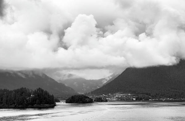 Wall Art - Photograph - Leaving Sitka In Black And White by SharaLee Art