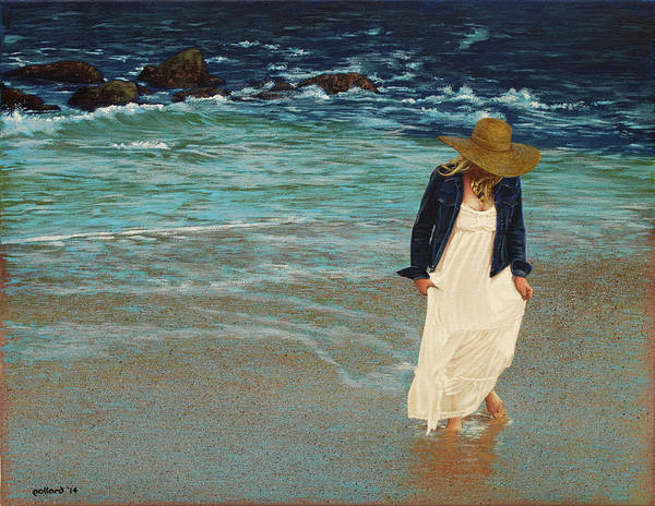 Painting - Leaving The Beach by Glenn Pollard