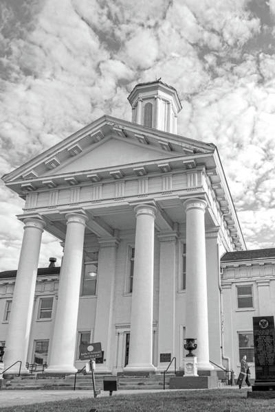 Photograph - Leaving The Courthouse by Sharon Popek