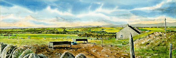 Wall Art - Painting - Leaving Wicklow by Tom Hedderich