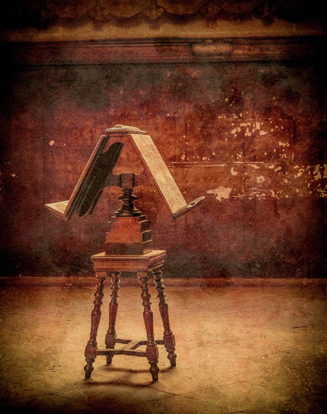 Photograph - Paris, France - Lectern by Mark Forte