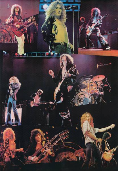Led Zeppelin Photograph - Led Zeppelin 1977 by James Fortune