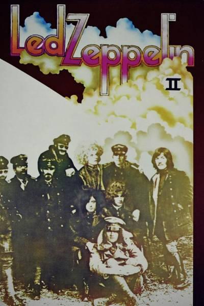 Led Zeppelin Photograph - Led Zeppelin II by Mark D Johnson