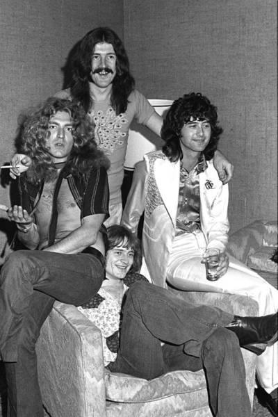Led Zeppelin Photograph - Led Zeppelin by James Fortune