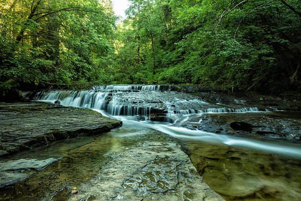 Photograph - Ledge Falls, No. 2 by Belinda Greb