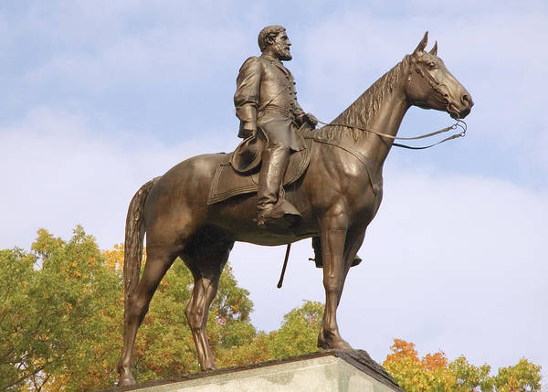 Photograph - Lee At Gettysburg by Mick Burkey