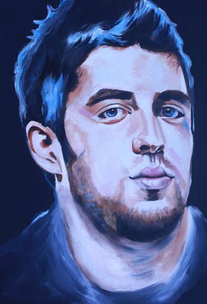 Wall Art - Painting - Lee Dewyze American Idol Portrait by Mikayla Ziegler
