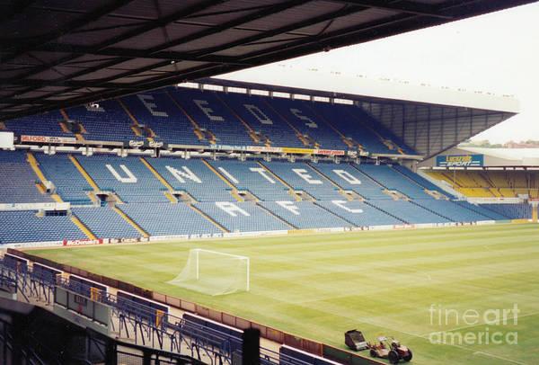 Wall Art - Photograph - Leeds - Elland Road - Lowfields Stand 4 - 1993 by Legendary Football Grounds