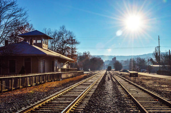 Photograph - Leeds Railroad Station by Michael Thomas