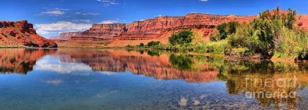 Photograph - Lees Ferry Panorama by Adam Jewell
