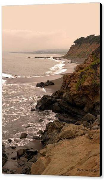 Wall Art - Photograph - Leffingwell Landing Cambria Special by Barbara Snyder