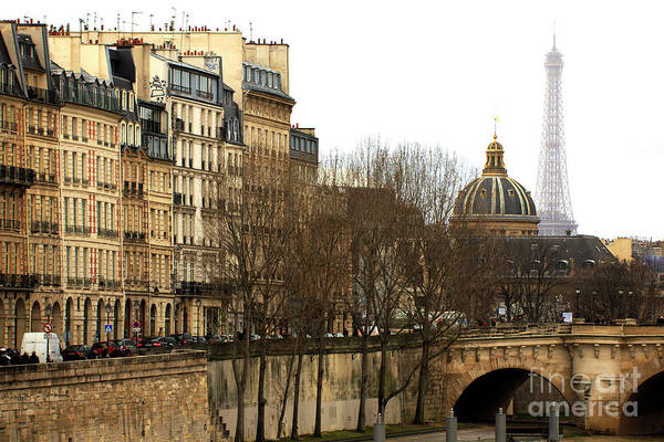 Wall Art - Photograph - Left Bank View Paris by John Rizzuto