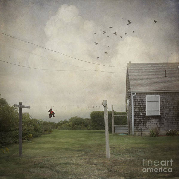 Cape Cod Photograph - Left Behind by Juli Scalzi