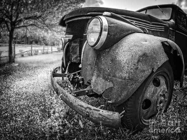 Old Chevy Photograph - Left To Rot by Edward Fielding