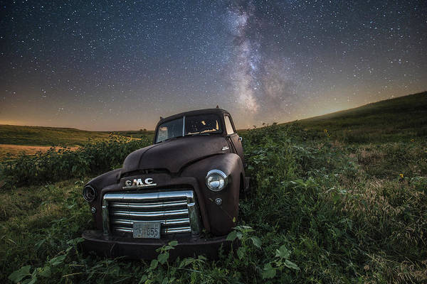 Middle Of Nowhere Photograph - Left To Rust by Aaron J Groen