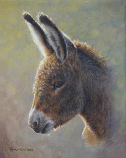 Painting - Lefty by Kim Lockman
