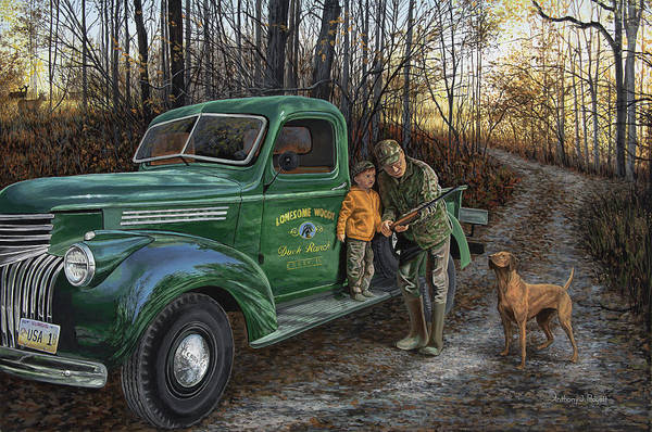 Painting - Legacy by Anthony J Padgett
