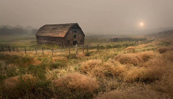 Legacy - Haynes Ranch Barn Art Print