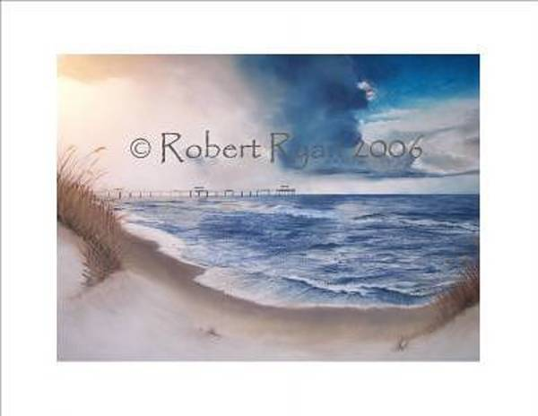 Gulf Shores Alabama Painting - Legal-ease by Robert Ryan