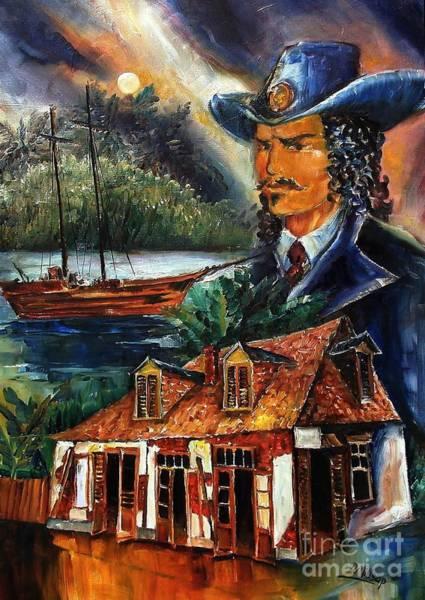 Wall Art - Painting - Legend Of Jean Lafitte by Diane Millsap