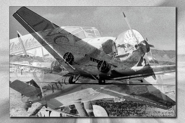 Ju 52 Wall Art - Photograph - Legendary Aunt Ju by Sascha Richartz