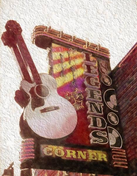 Photograph - Legends Corner Nashville Tennessee by Dan Sproul