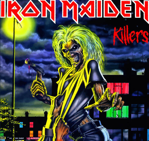 Iron Maiden Wall Art - Digital Art - Legitimately Nasty by Don Kuing