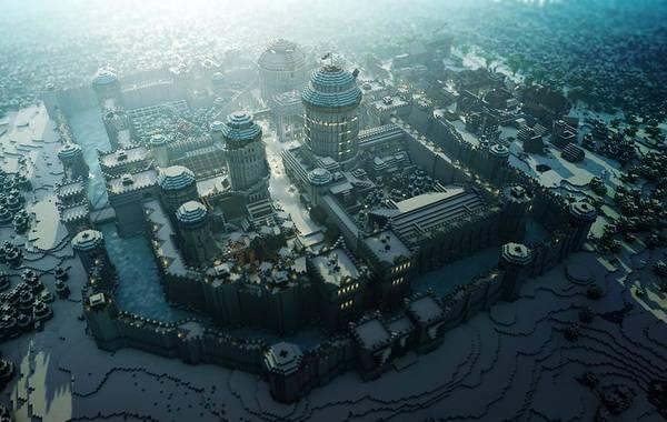 Skyline Digital Art - Legotown by Maye Loeser