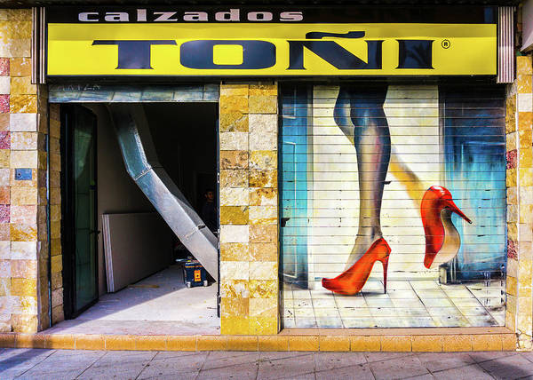 Photograph - Legs And Shoes by Gary Gillette