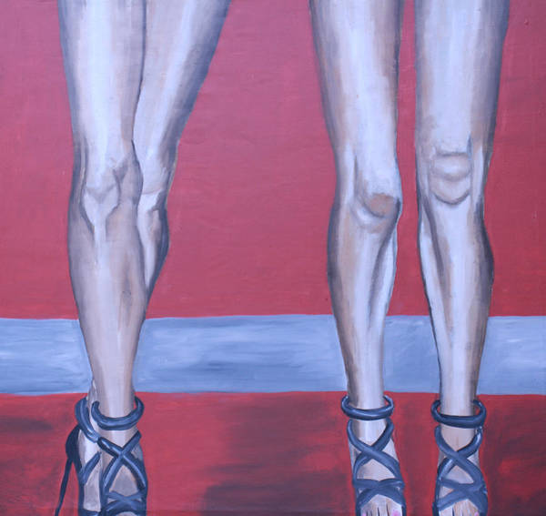 Wall Art - Painting - Legs II by Mikayla Ziegler