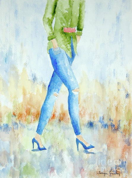 Painting - Legs by Tamyra Crossley