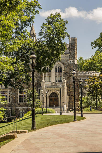 Lehigh University Wall Art - Photograph - Lehigh University Library by Lisa Hurylovich