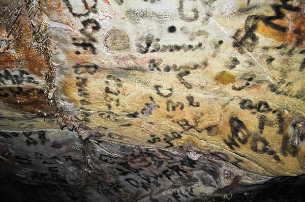 Photograph - Lehman Caves Inscription Room Nevada by Kyle Hanson