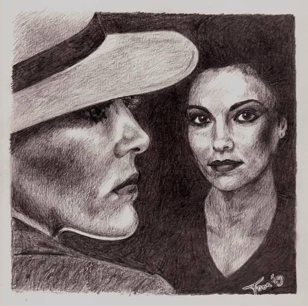 Drawing - Leia by Toon De Zwart