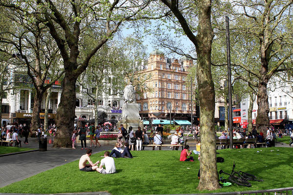 Photograph - Leicester Square, London  by Aidan Moran
