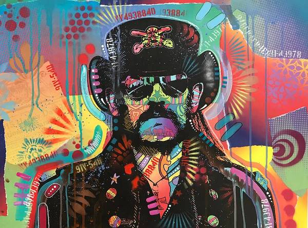Wall Art - Painting - Lemmy by Dean Russo Art